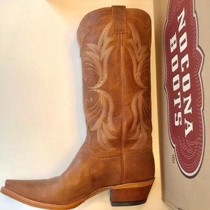 Nocona Leather Western Boots Size 11